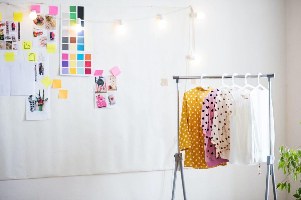 Interior of a studio, startup business.